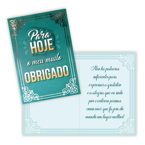 Cartão P - Agradecimento