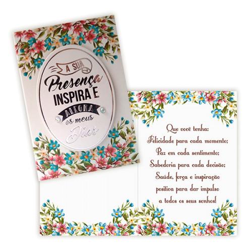 Cartão P - Amizade