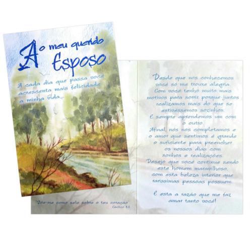 Cartão M - Esposo