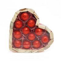Bombons Coração M-Vermelho