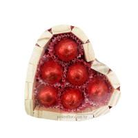 Bombons Coração P-Vermelho